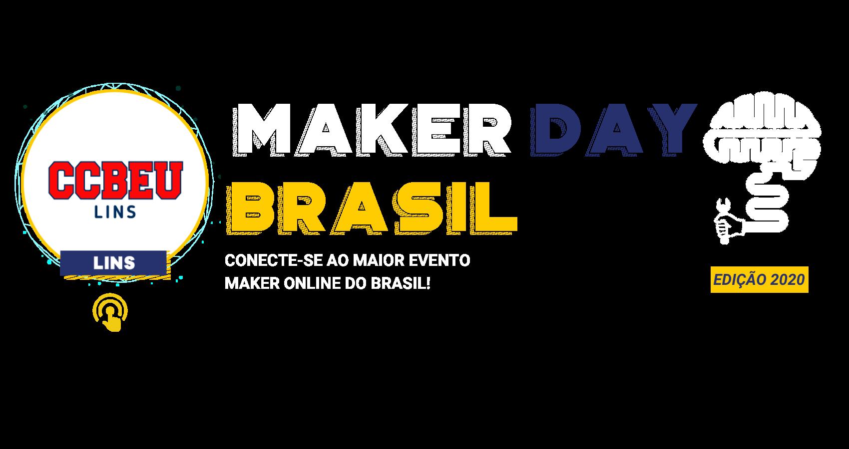 Maker Day Brasil Capa Lins