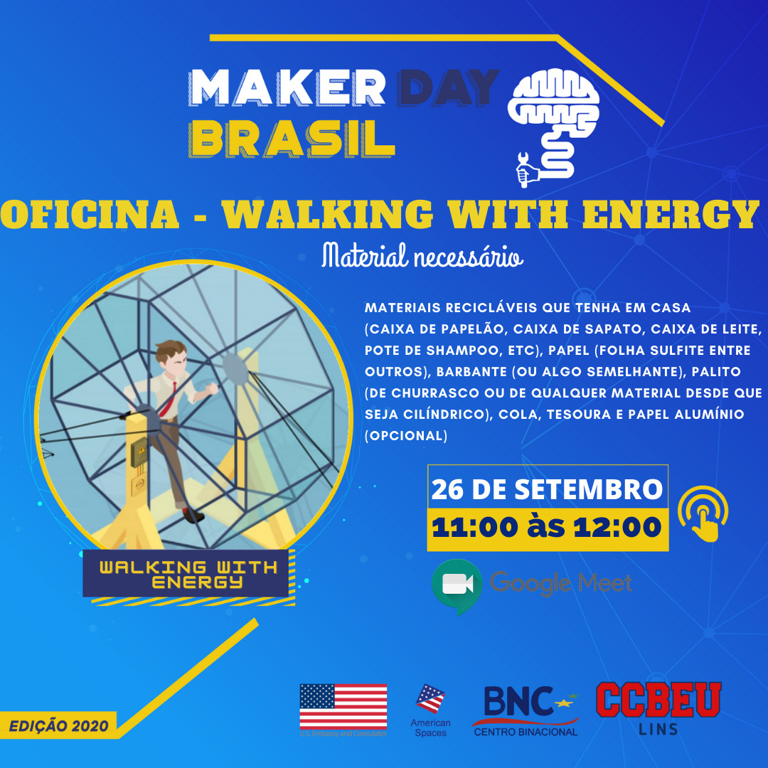 Oficina Walking with energy 11h - 12h