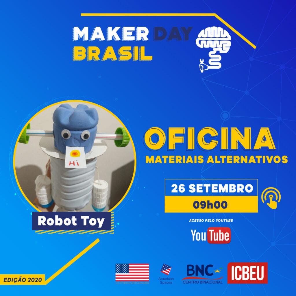Oficina Robot toy 09h - 10h