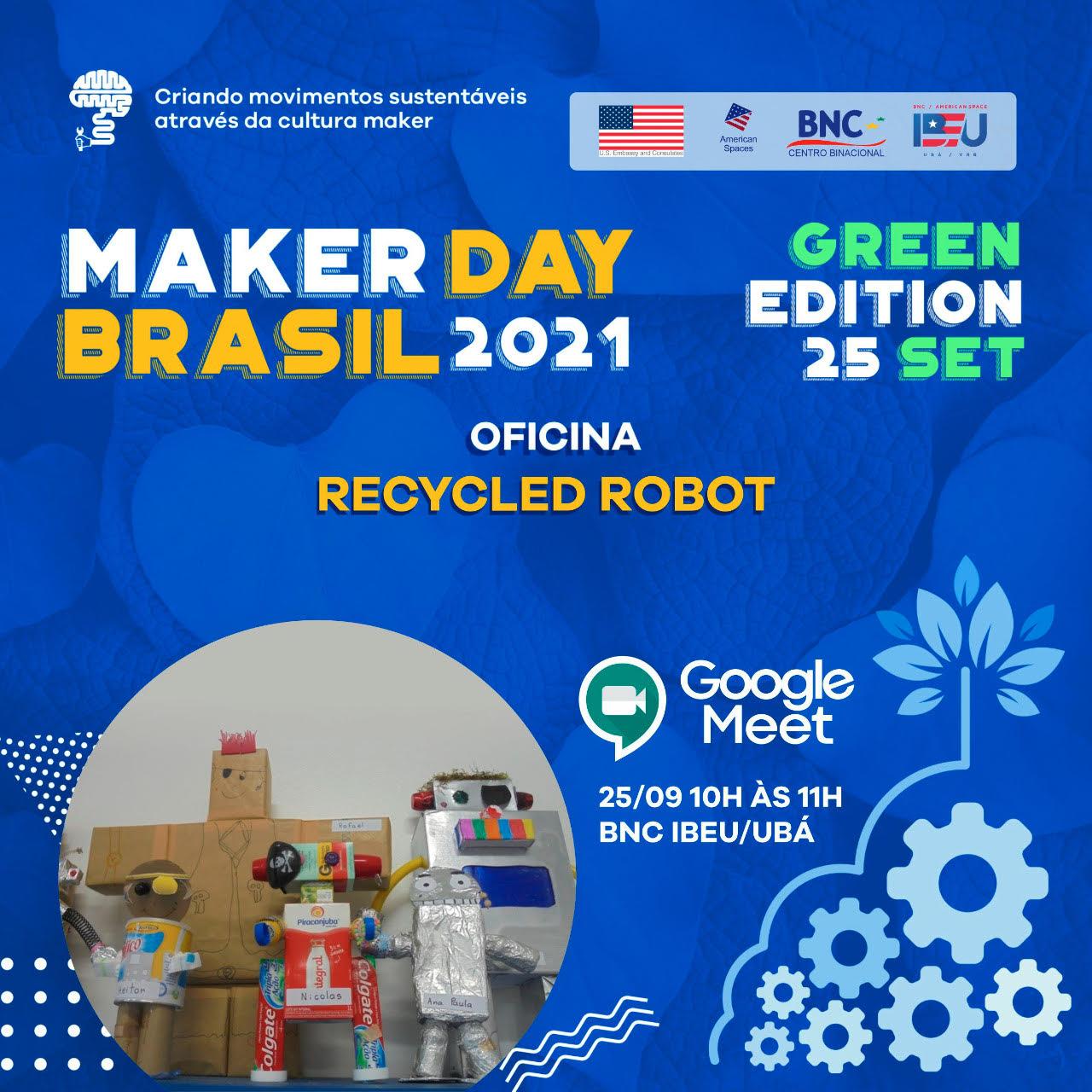 UBÁ - RECICLED ROBOT